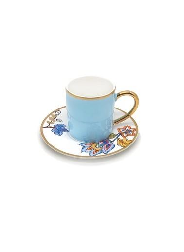 The Mia Dilaila Kahve Fincanı Mavi